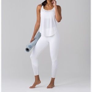 Lululemon Anew Tight White Legging Size 4